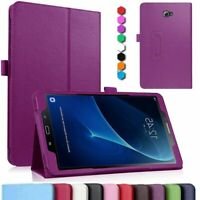 Leather Folding Case Cover For Samsung Galaxy Tab A 10.1 SM-T580 T585 Tab E S2