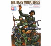 Maqueta German Assault Troops (Infantry) Kit de montaje 1/35 de Tamiya 8 Figuras