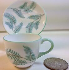 Shelley China Westminster Miniature Cup and Saucer in Serenity Pattern