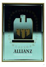 Allianz Versicherung XL Reklame 1942 Werbung