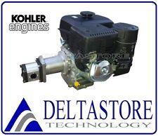 MOTORE KOHLER CH440 4T 14HP CON POMPA GR2 GALTECH, LANTERNA, GIUNTO E FLANGETTE