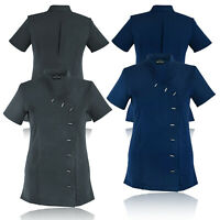 Women's Beauty Tunic Uniform Hairdressing Massage Salon Beautician SPA Therapist