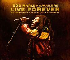 BOB MARLEY - LIVE FOREVER - 3LP + 2CD BOXSET BRAND NEW SEALED 2011