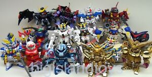 Gundam Superior Defender SD Action Figures Many COMPLETE Bandai [MULTI-LISTING ]