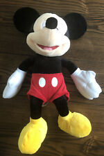 """New listing Disney 18"""" Mickey Mouse Plush Toy Just Play Logo"""