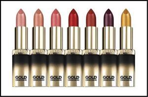 Loreal Gold Addiction Obsession Colour Riche Metallic Lipstick YOU CHOOSE