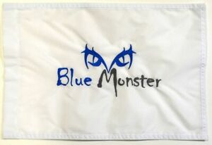 DORAL (Blue Monster) Embroidered GOLF FLAG