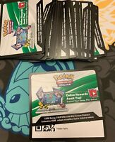 27x Sun & Moon Hidden Fates Booster Pack Code Pokemon Online TCGO Messaged