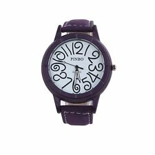 Smart Funky Watch Purple Clear Time Fashion Present Gift UK Delivery + Warranty