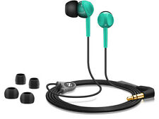 Sennheiser CX 215 Green In-Ear Earphones Iconic Sound