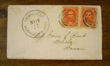 USA - Hawaii, Nr. 12 als MEF auf Brief von Honolulu nach Kohala
