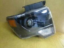 OEM 2013-2014 Ford F150 RH Right Passenger Side Xenon Smoked Headlight Lamp