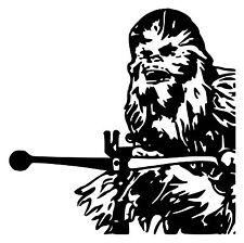 StarWars Chewbacca vinyl Decal / Sticker