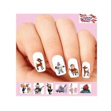 Waterslide Nail Decals Set of 20 - Rudolph the Red Nosed Reindeer Assorted