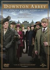 DOWNTON ABBEY-A JOURNEY TO THE HIGHLANDS DVD=REGIONS 2 & 4(AUST)=NEW AND SEALED