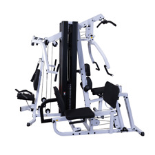 Body-Solid EXM3000LPS 2 Stack Commercial Multi Gym with Leg Press Machine