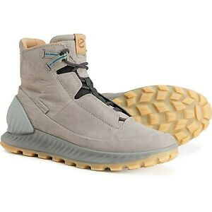 NIB ECCO Made in Portugal Exostrike Mid Hiking Boots - Leather Size 44 10 - 10.5