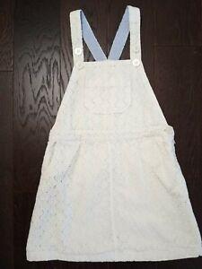 Mini Boden Eyelet Jumper Dress Skirt Size 7-8y