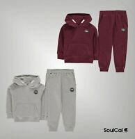 Boys Girls SoulCal Soft Signature Fleece Tracksuit Sizes Age from 2 to 7 Yrs