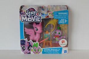 My Little Pony Movie Twilight Sparkle & Spike Friendship Lesson Walgreens NIB
