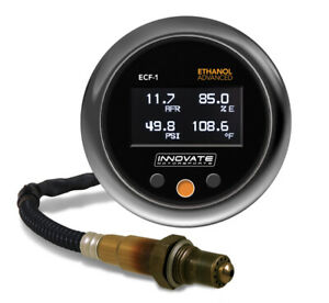 Innovate ECF-1 (BOOST) Ethanol Content & Air/Fuel Ratio Gauge AFR Wideband O2 02