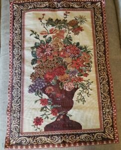 The Vatican Antique Globelin.  Vintage Wall Tapestry Hanging  Pre-owned .