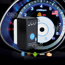 Mini Blk OBD 2 Bluetooth Car Diagnostic Scanner Code Reader  with Power Switch‏