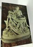 photo postcard real rome italy the pity of la pieta di michelangelo 6x4 in 218