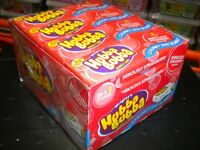 HUBBA BUBBA 20 PACKS OF 5 STRAWBERRY CHEWING BUBBLE GUM 100 PARTY BIRTHDAY ETC