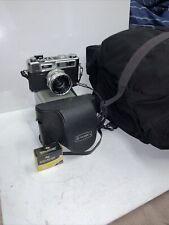 Vintage NEW Yashica Electro 35 GSN Yashinon Lens Case Battery & DOMKE J-3 Bag