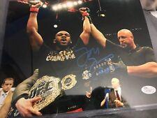 Jon Bones Jones Signed 8x10 Photo UFC MMA Auto  JSA Certified