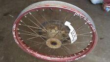 Front Wheel Hub Spokes Rim off a Yamaha YZ250F YZF 250 2001 01 WRF