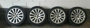 VAUXHALL INSIGNIA ALLOY WHEELS WITH TYRES 245/45 R18