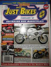Just Bikes 2007 Suzuki Hayabusa Yamaha YZF-R1 Ducati ST3 Monster S2R 1098 916