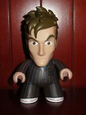 "6"" Titans Vinyl Figures 10th Doctor Who Brown Pin Stripe Suit Toy Action 10 BBC"