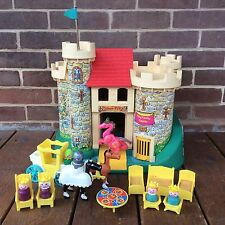 Vintage Fisher Price Little People Play Family Castle #993 Dragon 100% COMPLETE