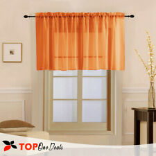 """Slot Top Voile Net Panels, Voiles Curtains, Rod Many Colours, Wide  57"""" & 114"""""""
