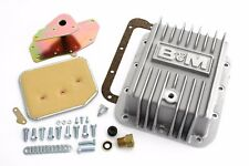 B&M Ford C4 Deep Finned Aluminum Transmission Pan 2 Qts Extra Capacity 50281
