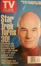 TV GUIDE 8-1996 Patrick Stewart STAR TREK TURNS 30 *SPECIAL COLLECTORS' ISSUE*