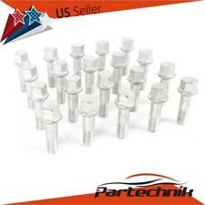 20pcs Wheel Lug Bolts Nuts 12x20x1.5 for Mercedes W124 R126 R129 W201 W202 W203