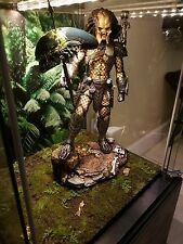 "Phicen Sparta Warrior 1/6 action Figure Base diorama only Hot Toys 12"" Predator"