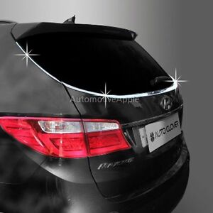 Chrome Lip Spoiler Molding For 2013 2016 Hyundai Santa Fe & XL