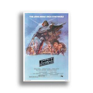 "Star Wars Episode V Empire Strikes Back Art Movie Poster HD Print 12 16 20 24"""