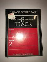 blank 8 track tape 84 minute cartridge lear jet studio