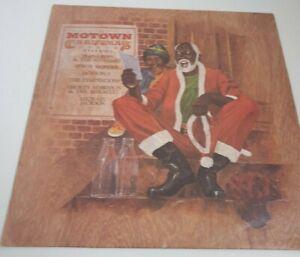 THE MOTOWN CHRISTMAS ALBUM UK  Vinyl LP Record 1977 Motown STML12037