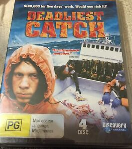 DEADLIEST CATCH - COMPLETE THIRD SERIES 4 DISC - NEW SEALED - 0STD POST