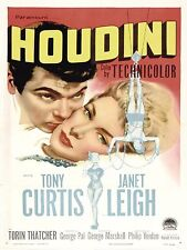 1953 Houdini Movie High Quality Metal Magnet 3 x 4 inches 9260