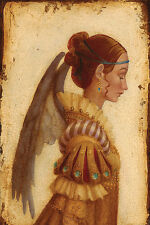 James Christensen PORTRAIT OF ISABELLA GRIMALDI AS AN ANGEL giclee canvas #3/200
