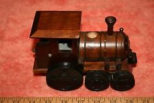 1982 George Good Corp. Wood Train Engine Music Box