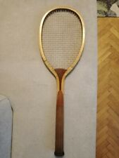 ANTIQUE,1900 s, WOOD RACKET,SLAZENGER DOHERTY,LONDON,BEAUTIFUL....